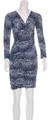 BCBGMAXAZRIA Print Mini Dress