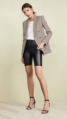 re:named apparel re:named PU Biker Shorts