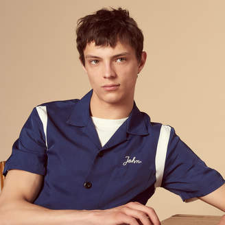 Sandro Short-sleeved shirt with inserts