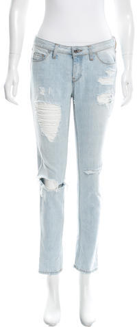IROIro Distressed Skinny Jeans