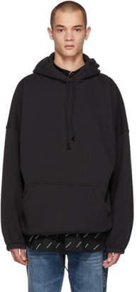 Balenciaga Black Oversized Hoodie
