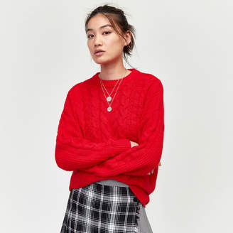 Warehouse Cable Knit Jumper