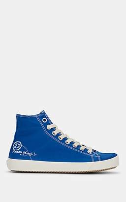 Maison Margiela Women's Tabi Canvas Sneakers - Royal Blue