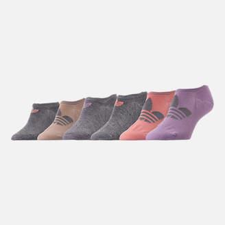 adidas Women's 6-Pack Footie Socks