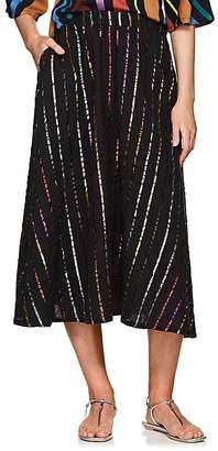 Ace&Jig Women's Eileen Striped Cotton Skirt