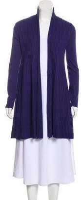 Armani Collezioni Knit Open Cardigan