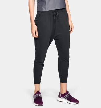 Under Armour Women's UA Favorite Terry Tapered Slouch Crop