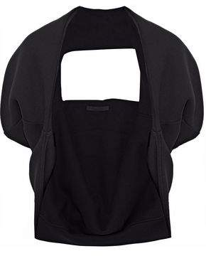 Alexander Wang Oversized Cotton-Blend Terry Shrug