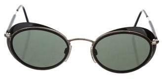 Giorgio Armani Oval Tinted Sunglasses
