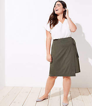 f04f515e5f7 LOFT Green Skirts on Sale - ShopStyle