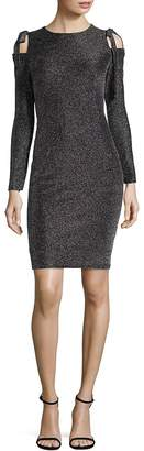 Maggy London Women's Cold-Shoulder Sheath Dress