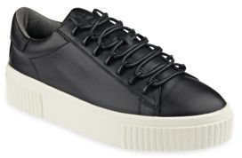 KENDALL + KYLIE Reese Leather Lace-Up Platform Sneakers $130 thestylecure.com