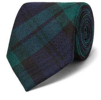 Polo Ralph Lauren 7.5cm Madison Checked Wool-Twill Tie