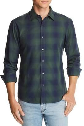 Michael Kors Ombré Plaid Slim Fit Shirt