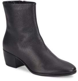 Giuseppe Zanotti Cuban Heel Leather Bootie