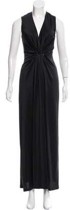 L'Agence Sleeveless Evening Dress