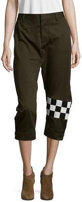 DSQUARED2 Women's Cotton Cropped Pants