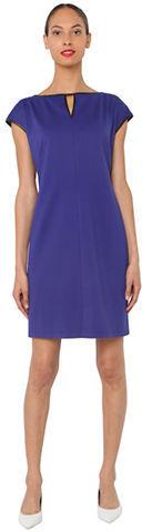Isaac Mizrahi NEW YORK Cap-Sleeved Sapphire Dress