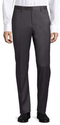 Giorgio Armani Solid Virgin Wool Pants