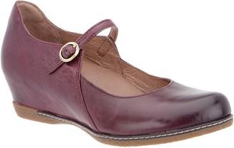Dansko Leather Wedge Mary Janes - Loralie