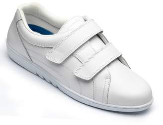 Free-Step Ladies 'Rex' Shoe In White Leather