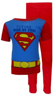 AME Sleepwear DC Comics Superman Future Man Of Steel Toddler Pajama for Little Boys