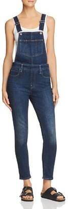 Levi's Skinny Denim Overalls in Over And Out