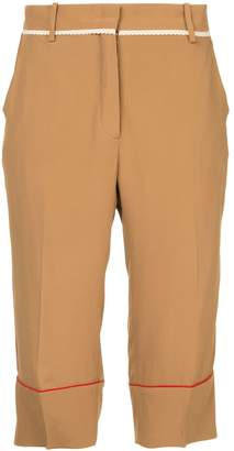No.21 cropped trousers