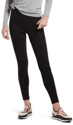 Hue Plus Hold It High-Waist Leggings