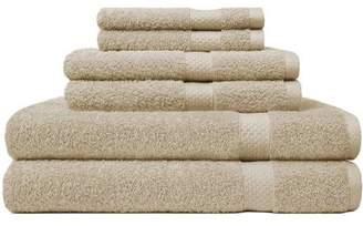 Carefree Comforts Ring Spun Towel 6-Piece Set