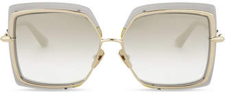 Dita Narcissus square-frame sunglasses