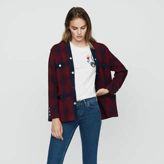 Maje Knit tweed jacket
