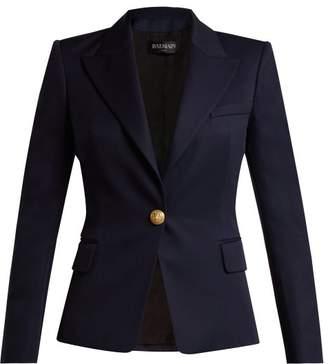 Balmain Single-breasted wool blazer