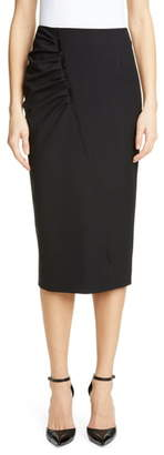 Jason Wu Collection Stretch Wool Suiting Skirt