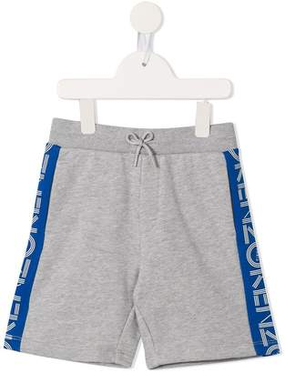 Kenzo contrast side panelled shorts