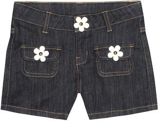 Little Marc Jacobs Embellished denim shorts