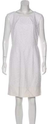 Calvin Klein Crocheted Sleeveless Dress