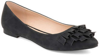 Journee Collection Womens Judy Slip-on Pointed Toe Ballet Flats