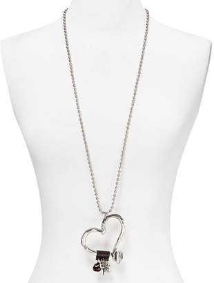 """Uno de 50 Love at First Sight Necklace, 34"""""""