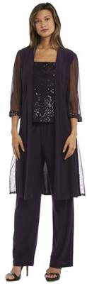 R & M Richards R&M Richards Women's Formal Three Piece Pant Outfit