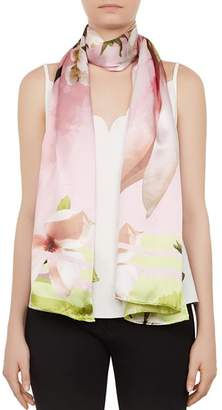 Ted Baker Debbbie Harmony Floral Silk Scarf