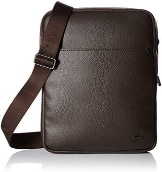 Lacoste Men's Gael Large Flat Crossover Bag