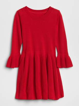 Gap Fit and Flare Sweater Dress