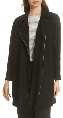 Eileen Fisher Long Moto Jacket
