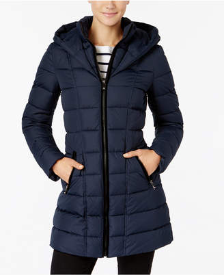 INC International Concepts I.n.c. Layered Puffer Coat
