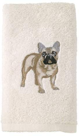 Avanti Linens French Bulldog Hand Towel