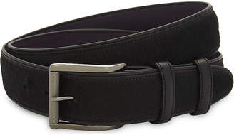 Elliot Rhodes Pony hair leather belt