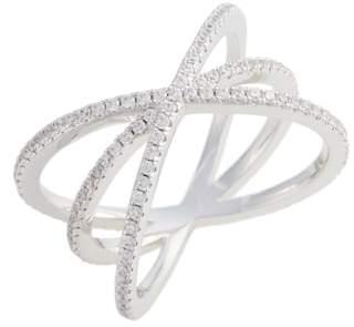 Nordstrom Pave Crisscross Ring