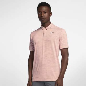 Nike Dri-FIT TW Men's Striped Golf Polo