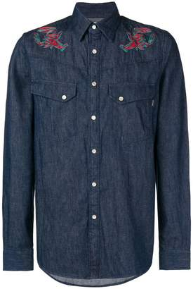 Paul Smith lobster embroidered shirt